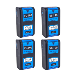 Hawk-Woods VL-190 V-Lock Battery Kit_shootblue