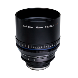 Zeiss Compact Prime CP.2 100mm_T2.1 CF Cine Lens (EF Mount) Standing_shootblue