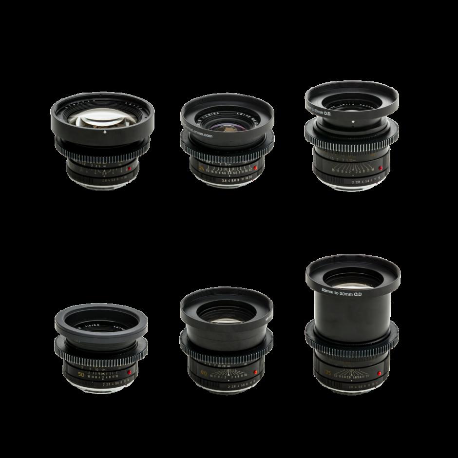 Leica R Series Cine Lens Set