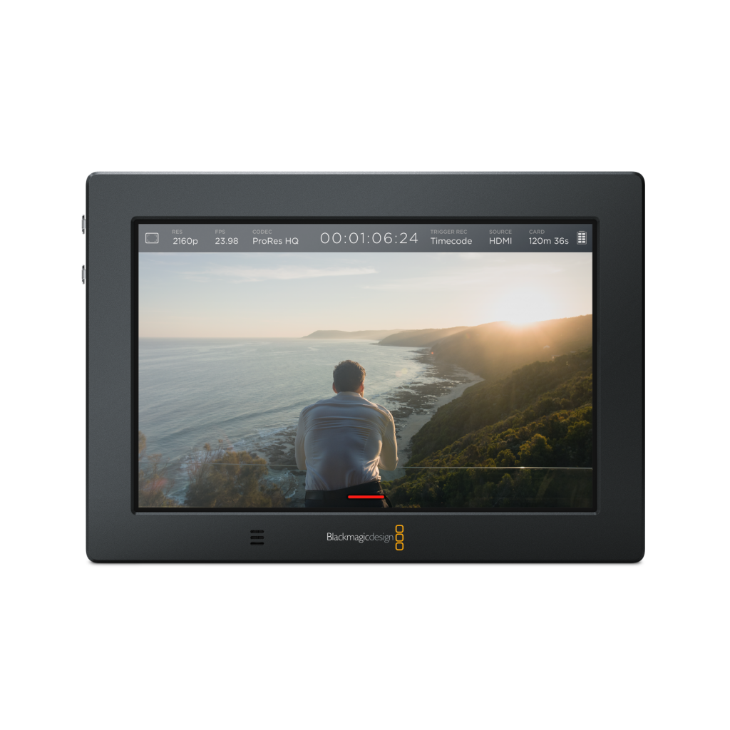 Hire Blackmagic Video Assist 4k In London Shoot Blue