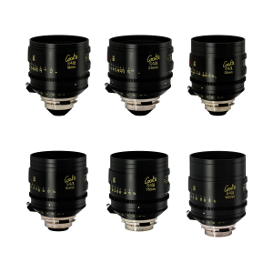 Cooke S4i 6-way Prime Lens Set