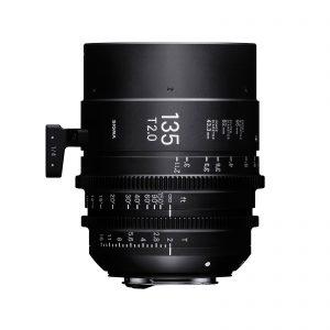 Sigma 135mm FF Cine T2 Lens