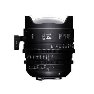 Sigma 14mm FF Cine T2 Lens