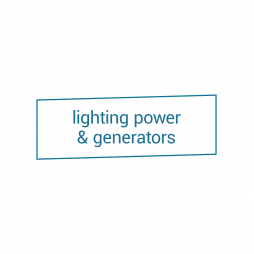Lighting Power & Generators