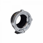 Lens mount adapter for using PL lenses on E mount cameras